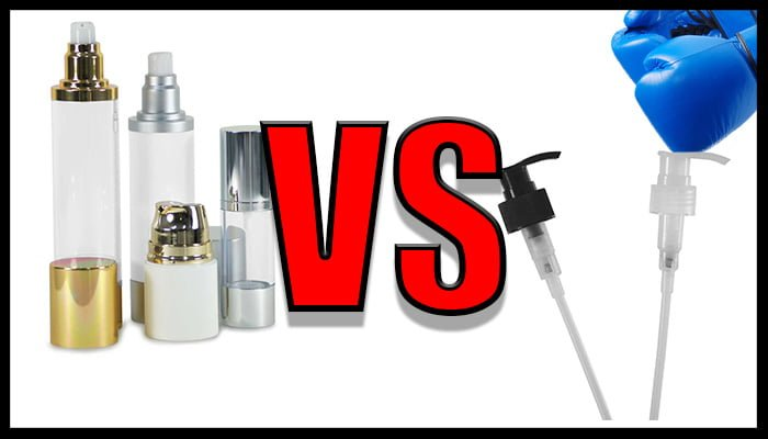 Airless vs Pump Dispensers