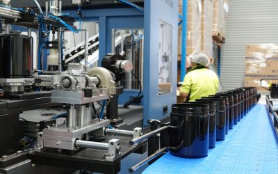 Onsite Manufacturing – 2 stage PET Blow Moulding